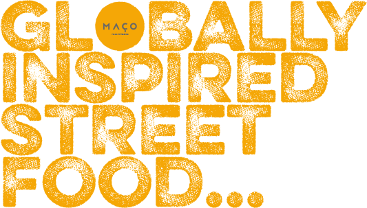 Globally inspired street food